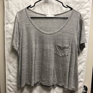 Lush gray top